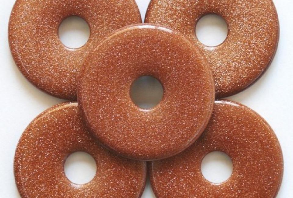donut-goudsteen-4-cm