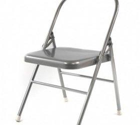 Blog: Stoelyoga. Iedere les kan je meedoen zittend op een stoel.
